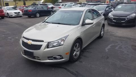 2014 Chevrolet Cruze for sale at Nonstop Motors in Indianapolis IN