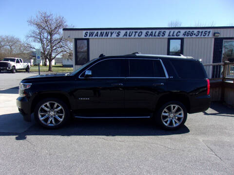 2015 Chevrolet Tahoe for sale at Swanny's Auto Sales in Newton NC