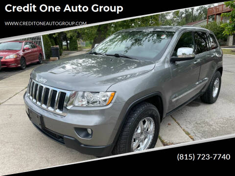 2012 Jeep Grand Cherokee for sale at Credit One Auto Group in Joliet IL