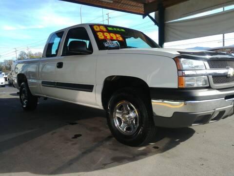 2004 Chevrolet Silverado 1500 for sale at Low Auto Sales in Sedro Woolley WA