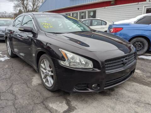 2010 Nissan Maxima for sale at Peter Kay Auto Sales in Alden NY