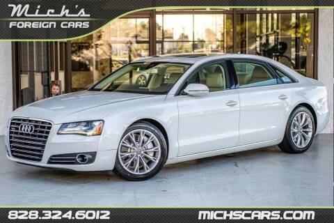 2012 Audi A8 L for sale at Mich's Foreign Cars in Hickory NC