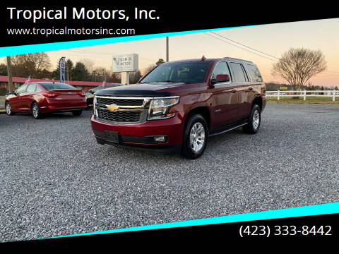 2016 Chevrolet Tahoe for sale at Tropical Motors, Inc. in Riceville TN