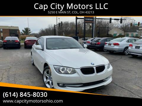 2013 BMW 3 Series for sale at Cap City Motors LLC in Columbus OH