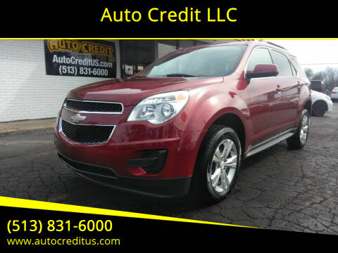 2011 Chevrolet Equinox for sale at Auto Credit LLC in Milford OH