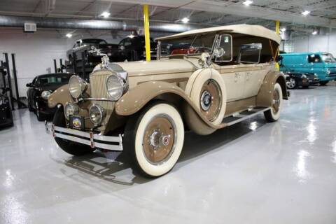 1929 Packard 640 Phaeton for sale at Great Lakes Classic Cars & Detail Shop in Hilton NY