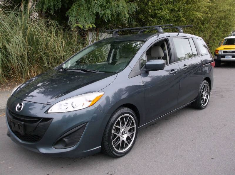 2012 Mazda MAZDA5 for sale at Eastside Motor Company in Kirkland WA
