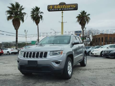 2014 Jeep Grand Cherokee for sale at A MOTORS SALES AND FINANCE - 5630 San Pedro Ave in San Antonio TX