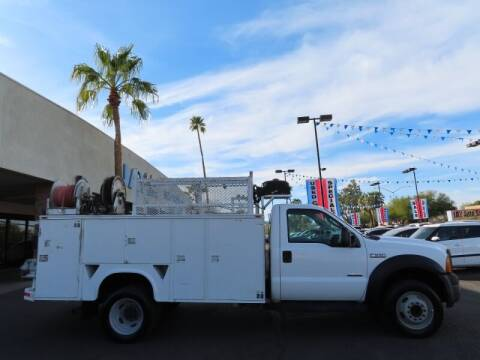 2007 Ford F-550 Super Duty for sale at Jay Auto Sales in Tucson AZ