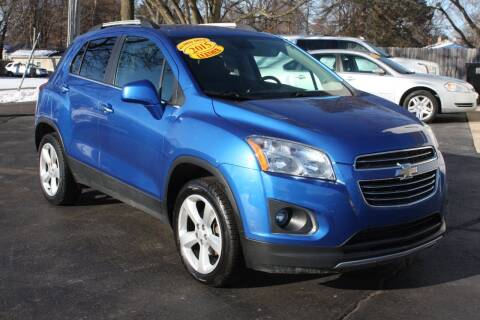 2015 Chevrolet Trax for sale at LJ Motors in Jackson MI