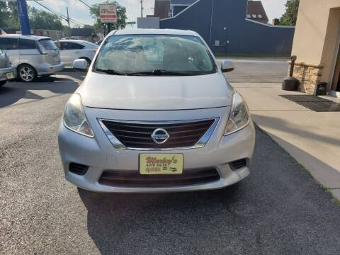 2014 Nissan Versa for sale at Marley's Auto Sales in Pasadena MD