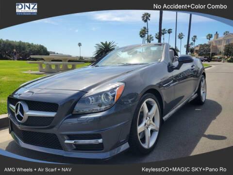 2013 Mercedes-Benz SLK for sale at DNZ Auto Sales in Costa Mesa CA