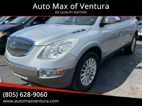 2011 Buick Enclave for sale at Auto Max of Ventura in Ventura CA