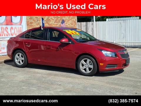 2014 Chevrolet Cruze for sale at Mario's Used Cars - South Houston Location in South Houston TX