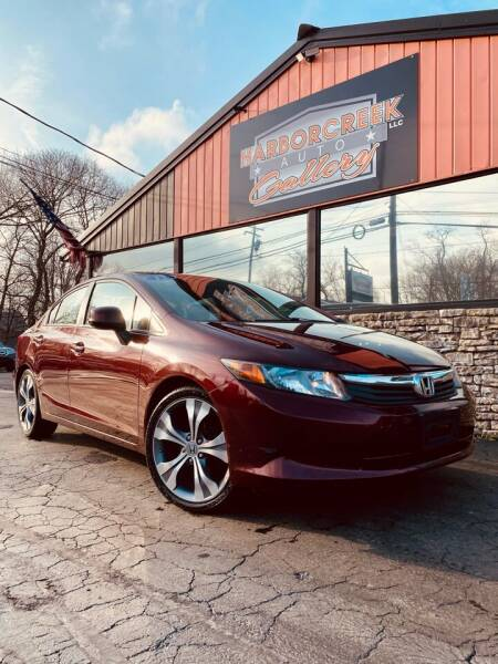 2012 Honda Civic for sale at Harborcreek Auto Gallery in Harborcreek PA