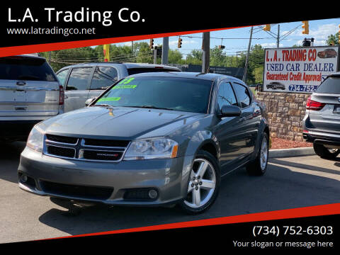 2013 Dodge Avenger for sale at L.A. Trading Co. in Woodhaven MI