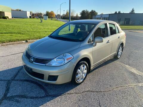 2008 Nissan Versa for sale at JE Autoworks LLC in Willoughby OH