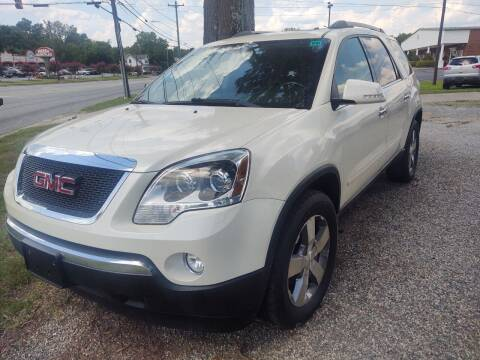 2012 GMC Acadia for sale at Ray Moore Auto Sales in Graham NC