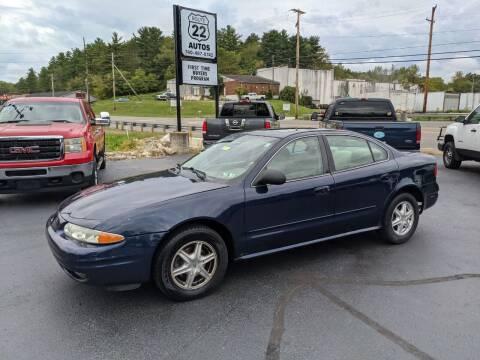 2004 Oldsmobile Alero for sale at Route 22 Autos in Zanesville OH