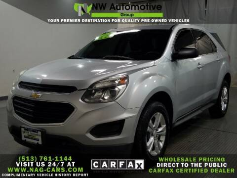 2016 Chevrolet Equinox for sale at NW Automotive Group in Cincinnati OH