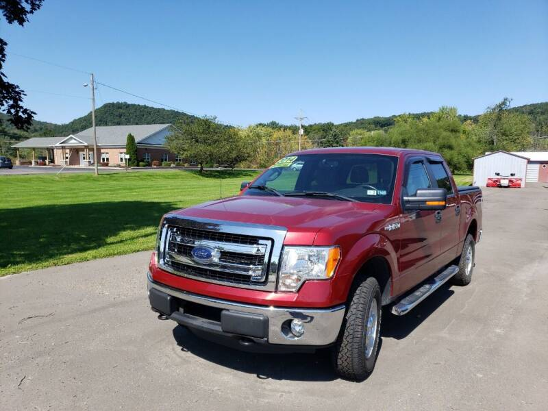 2014 Ford F-150 for sale at Greens Auto Mart Inc. in Wysox PA