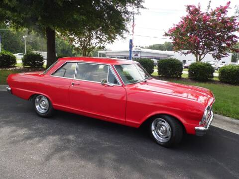1965 Chevrolet Nova for sale at Carolina Classics & More in Thomasville NC