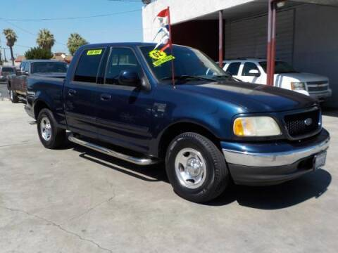 2002 Ford F-150 for sale at Bell's Auto Sales in Corona CA