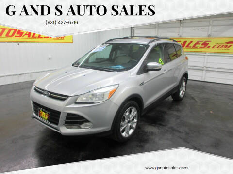 2013 Ford Escape for sale at G and S Auto Sales in Ardmore TN