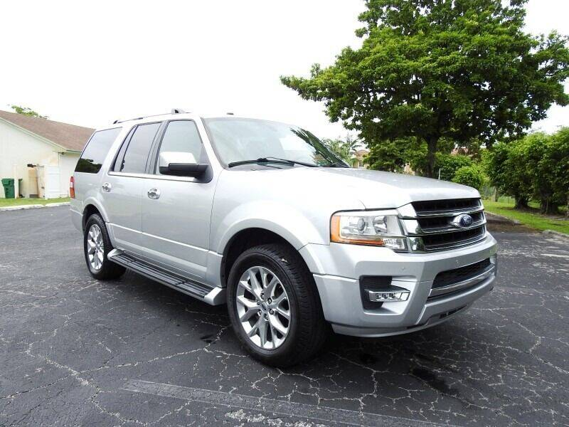 2017 Ford Expedition for sale at SUPER DEAL MOTORS 441 in Hollywood FL