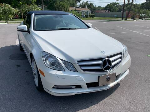 2013 Mercedes-Benz E-Class for sale at Consumer Auto Credit in Tampa FL