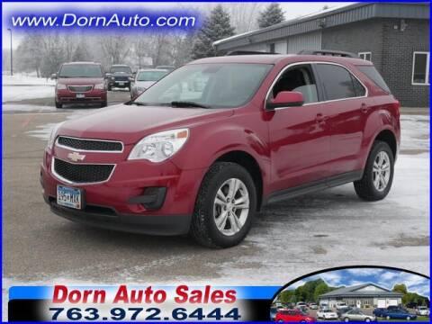 2014 Chevrolet Equinox for sale at Jim Dorn Auto Sales in Delano MN