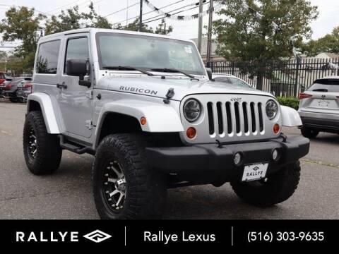 2012 Jeep Wrangler for sale at RALLYE LEXUS in Glen Cove NY