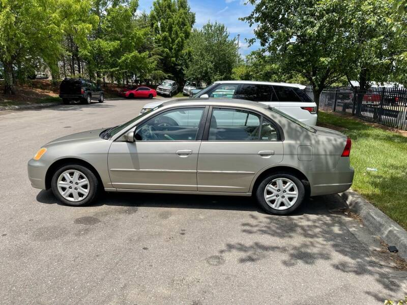 2003 Honda Civic for sale at Knoxville Wholesale in Knoxville TN