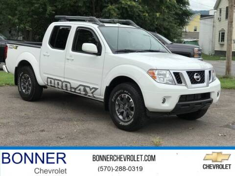 2017 Nissan Frontier for sale at Bonner Chevrolet in Kingston PA