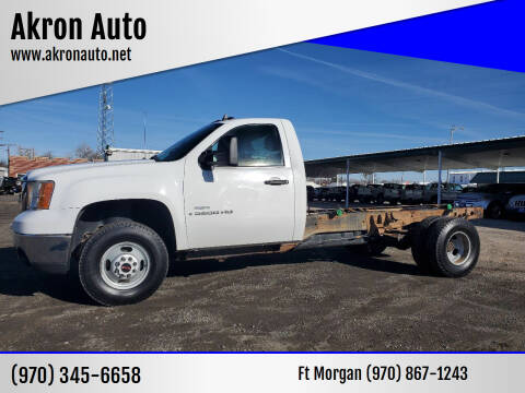 2007 GMC Sierra 3500HD CC for sale at Akron Auto in Akron CO