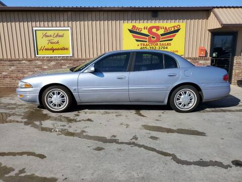 2004 Buick LeSabre for sale at BIG 'S' AUTO & TRACTOR SALES in Blanchard OK