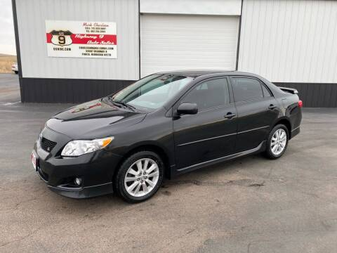 2010 Toyota Corolla for sale at Highway 9 Auto Sales - Visit us at usnine.com in Ponca NE