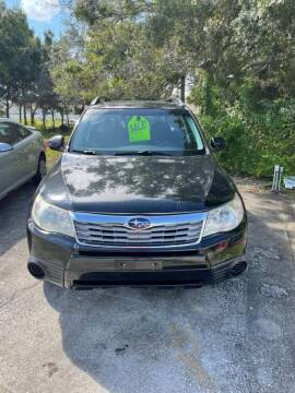2010 Subaru Forester for sale at Brevard Auto Sales in Palm Bay FL