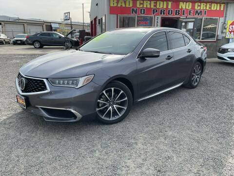 2018 Acura TLX for sale at Yaktown Motors in Union Gap WA