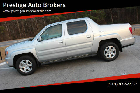 2010 Honda Ridgeline for sale at Prestige Auto Brokers in Raleigh NC