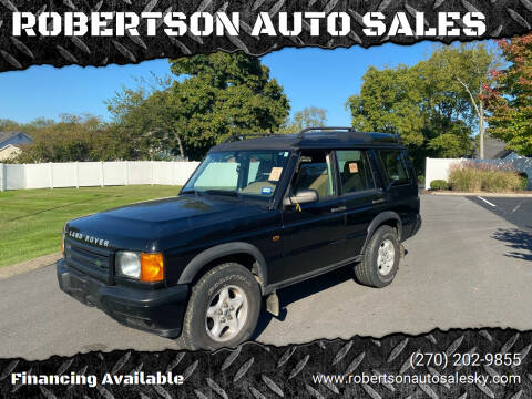 1999 Land Rover Discovery for sale at ROBERTSON AUTO SALES in Bowling Green KY