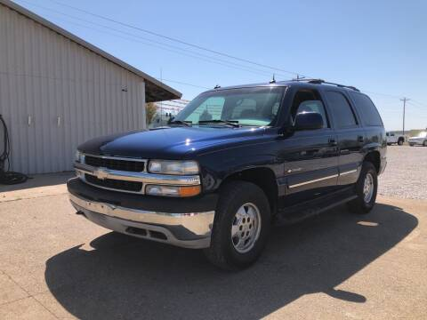 2003 Chevrolet Tahoe for sale at Family Car Farm in Princeton IN