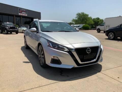 2021 Nissan Altima for sale at KIAN MOTORS INC in Plano TX