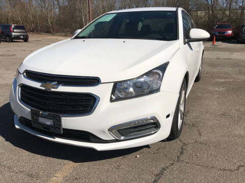 2015 Chevrolet Cruze for sale at Certified Motors LLC in Mableton GA