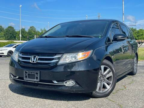2014 Honda Odyssey for sale at MAGIC AUTO SALES in Little Ferry NJ