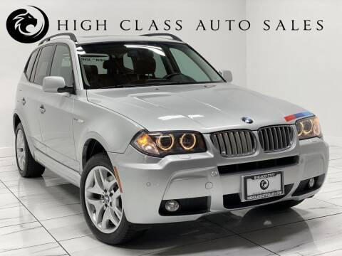2007 BMW X3 for sale at HIGH CLASS AUTO SALES in Rancho Cordova CA