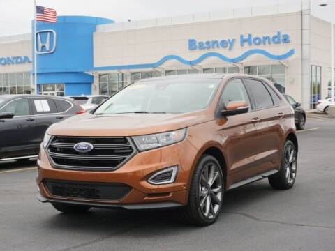 2017 Ford Edge for sale at BASNEY HONDA in Mishawaka IN