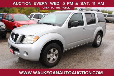 2008 Nissan Pathfinder for sale at Waukegan Auto Auction in Waukegan IL