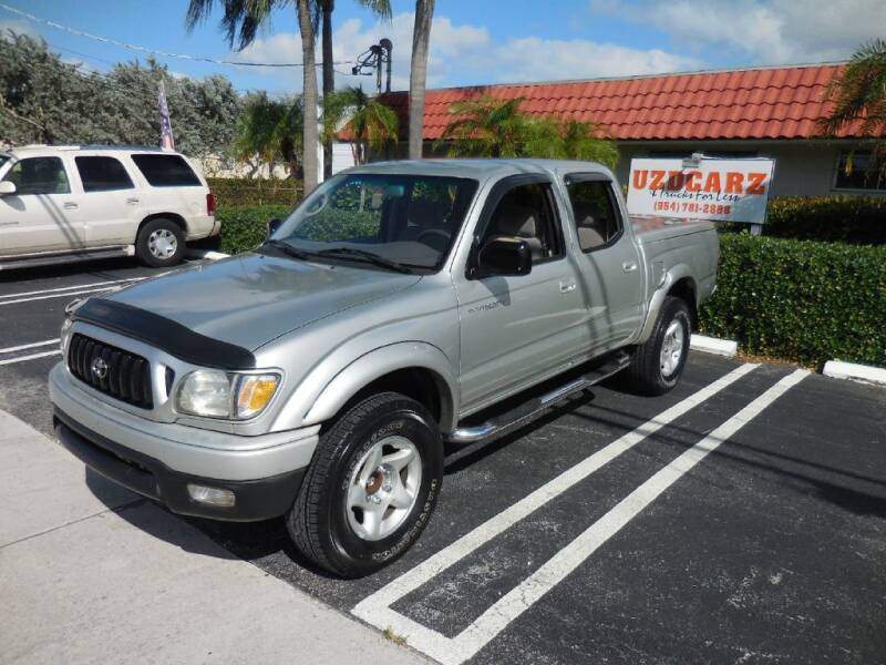 2002 Toyota Tacoma for sale at Uzdcarz Inc. in Pompano Beach FL