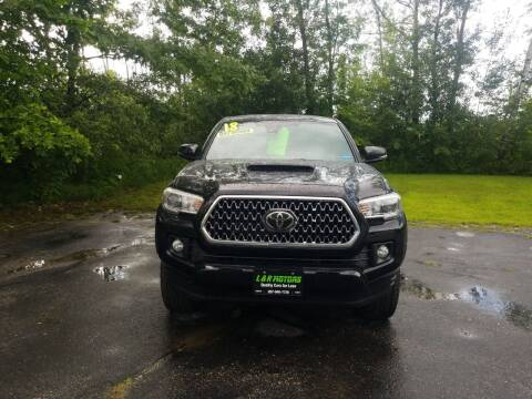 2018 Toyota Tacoma for sale at L & R Motors in Greene ME